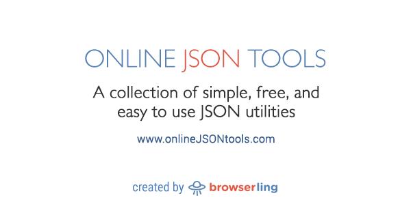 Escape JSON - Online JSON Tools